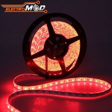Tira LED SMD5050 Rojo IP65 5m 72w 12v 300 strip 5050 red waterproof impermeable