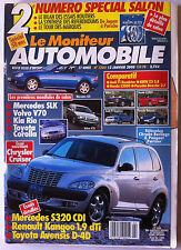 Le moniteur Automobile 12/01/2000; Salon/ Kia Rio/ Cruiser/ Kangoo 1.9 Dti