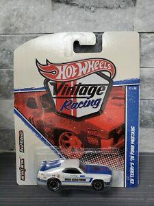 "VHTF Hot🔥Wheels ""Vintage Racing"" Ed Terry's 70 Ford Mustang Mach I MIB!! READ"