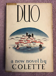 Colette DUO - 1st ed. (1935) SCARCE in RARE DUST JACKET