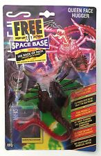 Kenner Aliens 1994 Queen Face Hugger Alien & Exclusive UK 3D Space Base