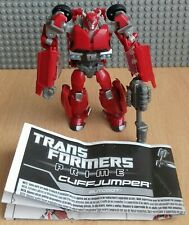 Transformers Prime Deluxe Cliffjumper Complete Plus Instructions