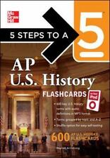 5 Steps to a 5 AP U.S. History Flashcards for Your iPod with MP3/CD-R 0071700994