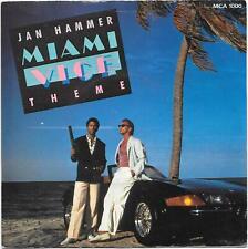 "Jan Hammer Miami Vice Theme 7"" Vinyl  Picture Sleeve"
