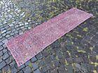 Runner rug, Handmade wool rug, Bohemian vintage rug, Carpet | 2,1 x 7,0 ft
