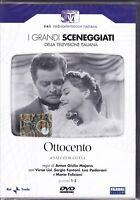 2 Dvd Box Sceneggiati Rai OTTOCENTO di A.G.Majano con Virna Lisi completa 1959