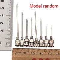 10 Pcs Edelstahl Dispensing Nadeln Spritze Dosiernadeln Nadelspitzen Needle