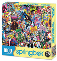 Springbok's 1000 Piece Jigsaw Puzzle Comic Books Galore