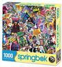 Springbok's 1000 Piece Jigsaw Puzzle Comic Books Galore