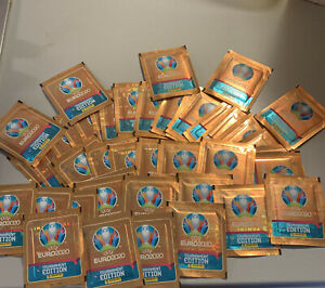 Panini UEFA Euro 2020 Tournament Edition Stickers 40 Packets  NEW