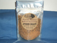 Farm House Steer Dust rubs and seasonings