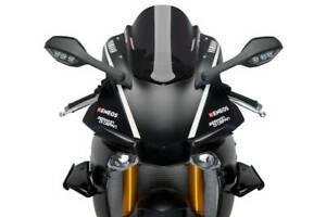 Puig Sport Spoiler To Suit Yamaha YZF-R1 / YZF-R1M (Black)