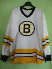 Maillot Hockey Bruins de Boston Vintage NHL CCM Ice Jersey #30 Blanc - XL