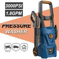 3000PSI 1.8GPM Electric Pressure Washer High Power Cleaner Machine Sprayer.
