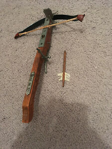 Medieval Hand Held Crossbow Reproduction Made in Italy