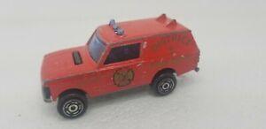 Majorette #246 Range Rover District Fire Dept No Package