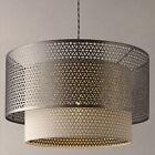 John Lewis Meena Fretwork Steel Pendant Light RRP £120 NEW