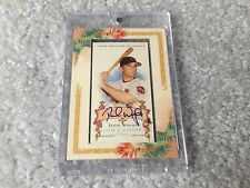2006 Allen and Ginter David Wright AUTO NY Mets AGA-DW