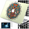 AZTEC Elephant Paint Rubberized Hard Case Cover For Macbook Pro Air 11 12 13 15