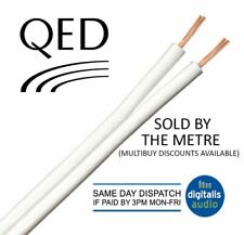 1m of QED 79 Strand White Oxygen Free Copper (OFC) HiFi Speaker Cable