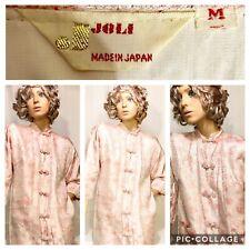 Vintage 1960's Pale Pink Shimmering Women's Robe By Joli