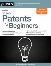 Nolo's Patents for Beginners : Quick and Legal: By Pressman, David Stim, Rich...