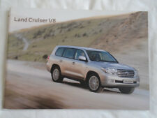 Toyota Land Cruiser V8 range brochure Apr 2010