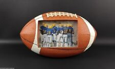 Large FOOTBALL SHAPE Picture Frame Photo Sports