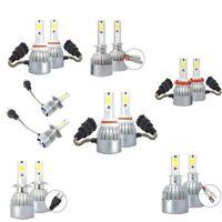 C6 Led Bombillas para Luces Delanteras de Automóviles, 2 Unids 8000 K Luz A Q6U9
