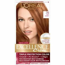 L'Oreal Paris Excellence Creme Triple Protection Color 7R Red Penny, 2 Pack