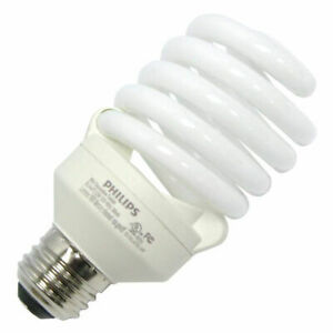 Philips 23W=100W Flourescent Twist Medium Energy Saver Compact Light Bulb - NEW
