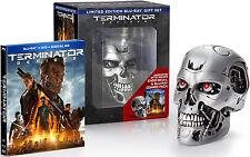 Terminator Genisys Blu-Ray DVD Digital Endo Skull Limited Edition New Gift Set