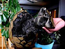 "16.29Kg NATURAL Dragon Septarian Gem Stone ""Moving Lid"" Crystal Egg Sphere Ball"