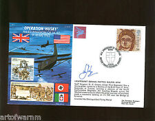 JS50/43/7 OPERATION HUSKY Invasion of Sicily  1943  signed RAF WW2 comm. cover