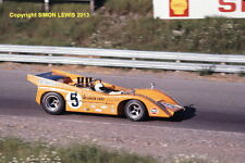 "McLaren M8D Denny Hulme, ST JOVITE Can Am 1970. Color 10x7"" Foto"