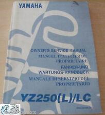 5CU-28199-30 Manual Del Propietario YZ250 (L) / LC