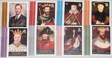 SOLOMON SALOMON ISL. 2010 3rd set British Royal Kings Queens König Herrscher MNH
