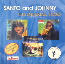 SANTO AND JOHNNY 'The IMPERIAL Years' - 27 Tracks
