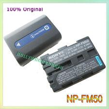 Genuine Original Sony NP-FM50 Battery For FM30 FM51 NP-FM70 FM71 QM70 FM90 FM91