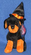 TY ALACAZAM the HALLOWEEN DOG BEANIE BABY - MINT with MINT TAGS