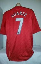 LIVERPOOL *Suarez 7* Football Shirt Top  XL Camiseta Jersey Barcelona Uruguay