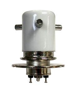 Vacuum SPDT Antenna Relay VC-2F 26VDC Flange Mount for HF Amplifier - Greenstone