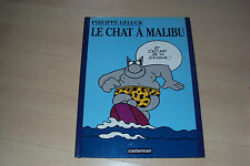 BD  LE CHAT A MALIBU - Philippe Geluck  (EO oct 97)