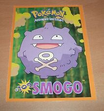 CP CARTE POSTALE POKEMON #109 SMOGO KOFFING CARD NEUVE - NEW