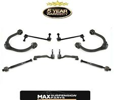 AWD Chrysler 300 Front Suspension Kit Upper Control Arm+Tie Rods+Sway Bar Link