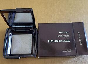 HOURGLASS   AMBIENT Lighting Powder : Luminous Light. .04oz. New in Box.