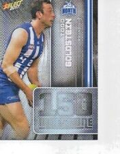 SELECT 2017 MILESTONE GAMES CARD TODD GOLDSTEIN NORTH MELBOURNE