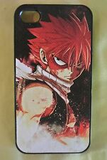 USA Seller Apple iPhone 4 & 4S Anime Phone case Fairy Tail Natsu Dragneel