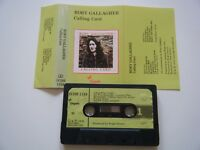 RORY GALLAGHER CALLING CARD CASSETTE TAPE 1976 GREEN PAPER LABEL CHRYSALIS UK