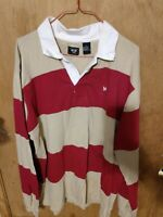 Junction West Men's Rugby Polo Size L